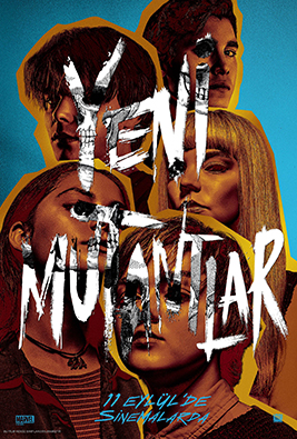 New Mutant Afis 11 Eylul 68X98Cm R